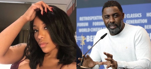 K Michelle and Idris Elba