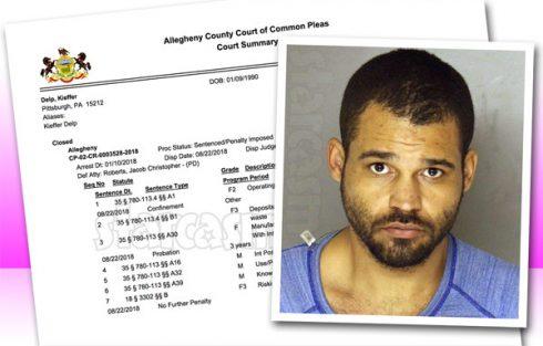 Kieffer Delp sentenced for meth lab arrest
