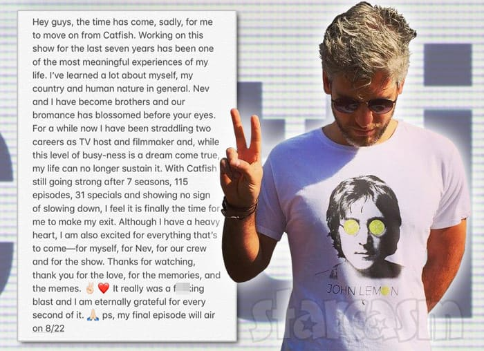 Max Joseph quits Catfish
