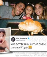 Catfish host Nev Schulman's wife Laura Perlongo is pregnant again with a baby boy