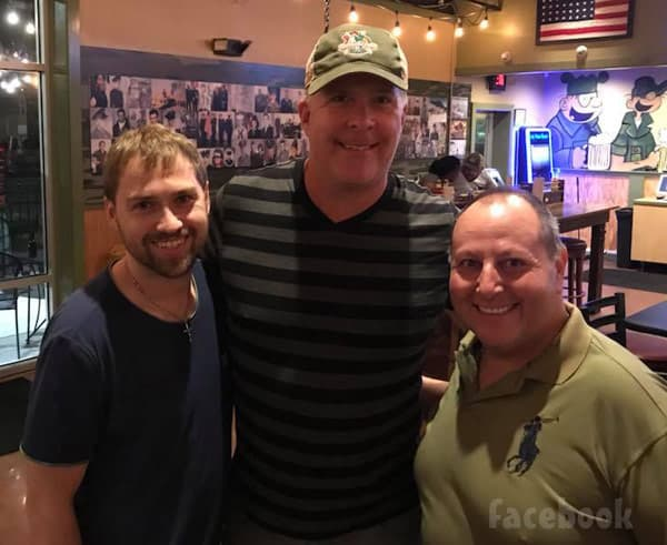 Paul Staehle back in the United States with David Toborowsky and Chris Thieneman