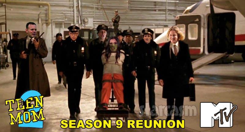 Teen Mom 2 Season 9 Reunion Hannibal Lecter Briana DeJesus