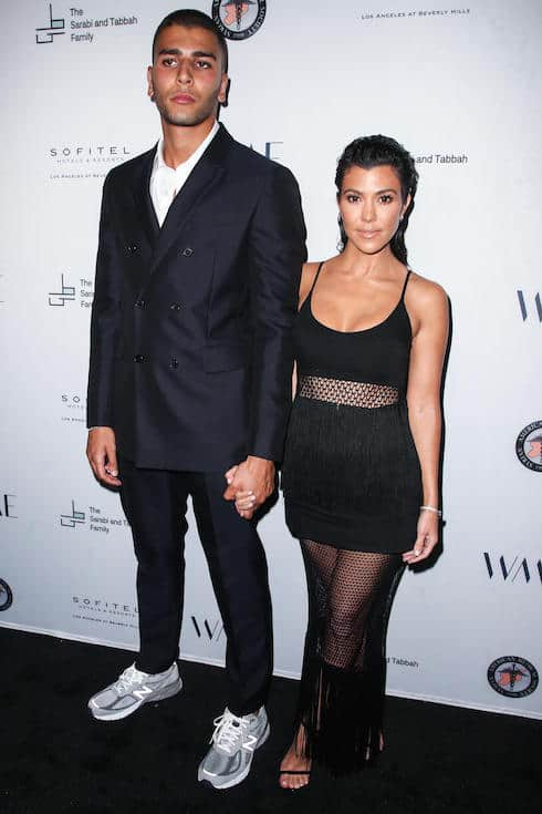 Why did Kourtney and Younes split 1