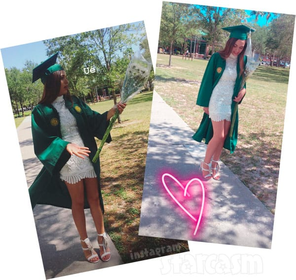90 Day Fiance Cassia graduates college photos