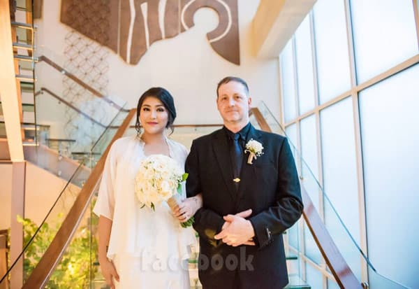 90 Day Fiance Eric and Leida wedding photo