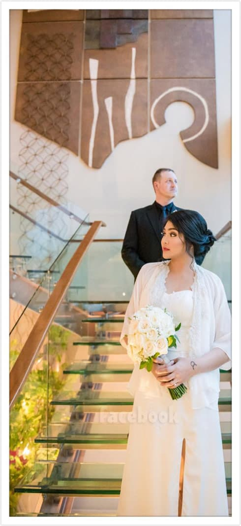 90 Day Fiance Eric and Leida wedding photo in Jakarta