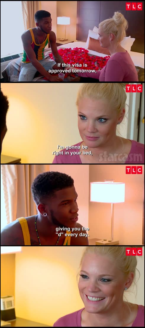 90 Day Fiance giving you the D every day scene meme