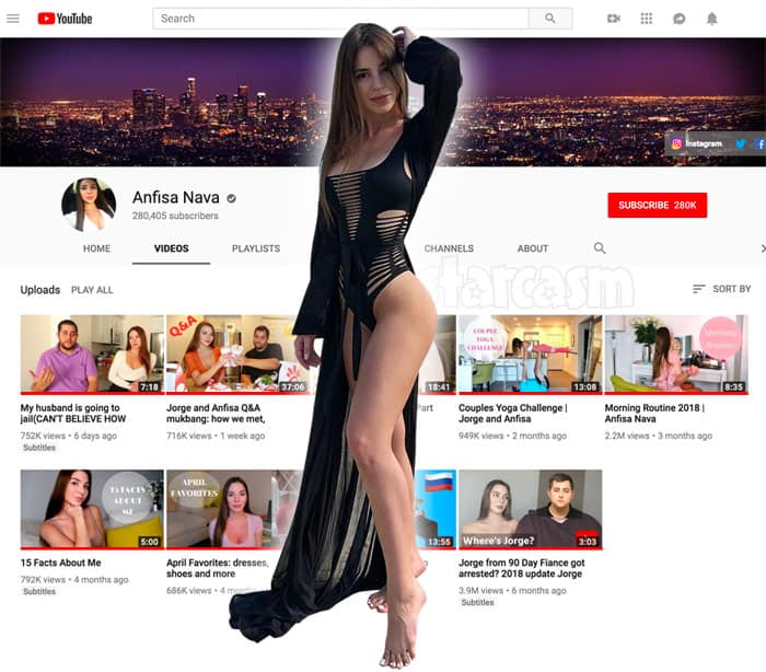 Anfisa YouTube
