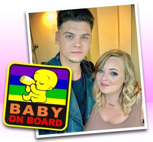 Catelynn Baltierra pregnant with rainbow baby