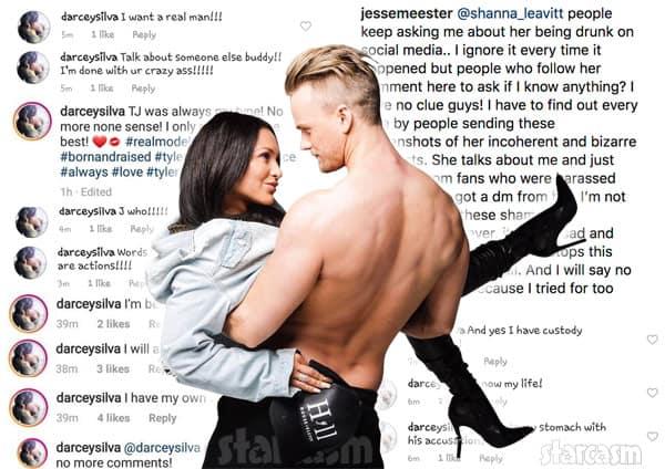 Darcey Silva Instagram rant Jesse Meester response