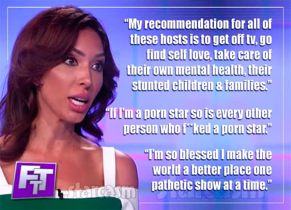 Farrah Abraham Face the Truth reaction quotes