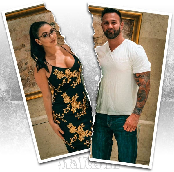 JWoww Roger divorce