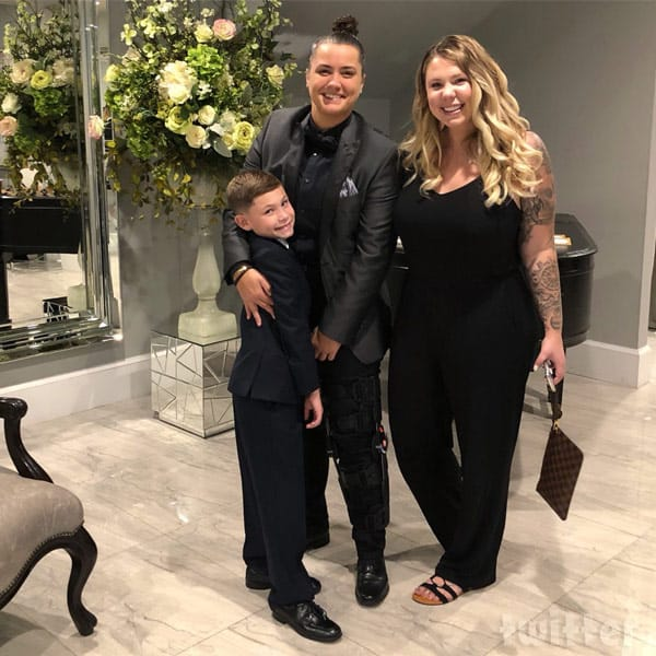 Kailyn_Lowry_Jo Rivera and Vee's wedding Isaac with Kail and Becky Hayter