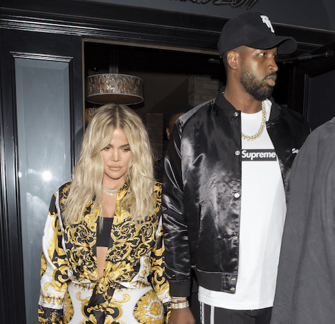 Khloe and Tristan's wedding 1