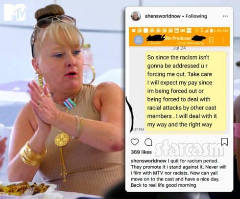 Shen quits Teen Mom Young and Pregnant again because of racism