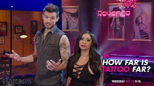 Snooki How Far Is Tattoo Far MTV show