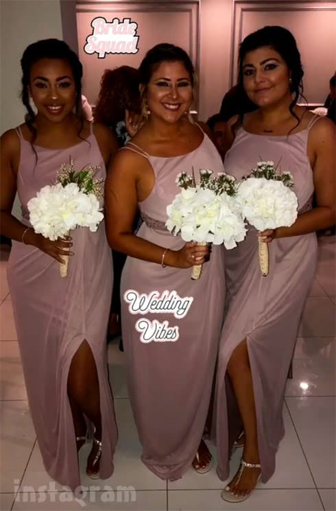 Teen Mom 2 Vee wedding bridesmaids
