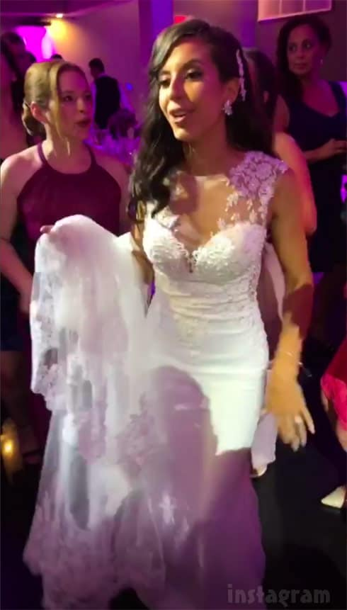 Teen Mom 2 Vee wedding dress