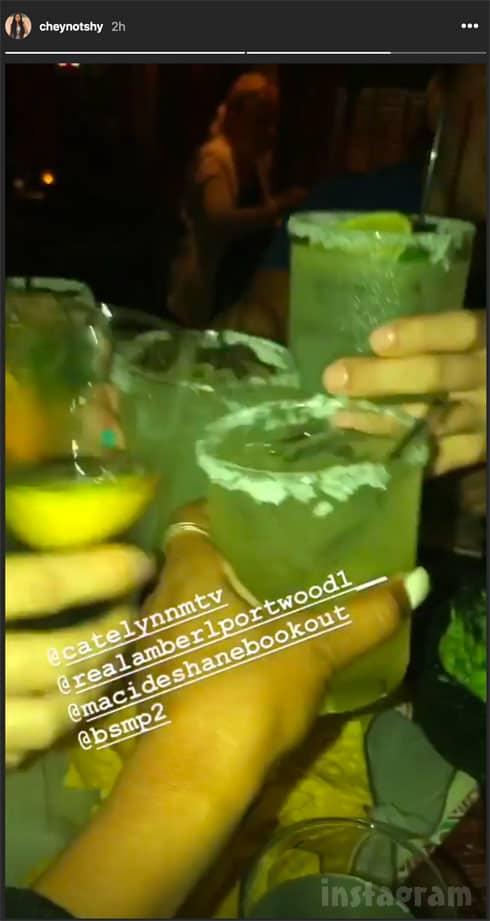 Teen_Mom OG new cast drinking together