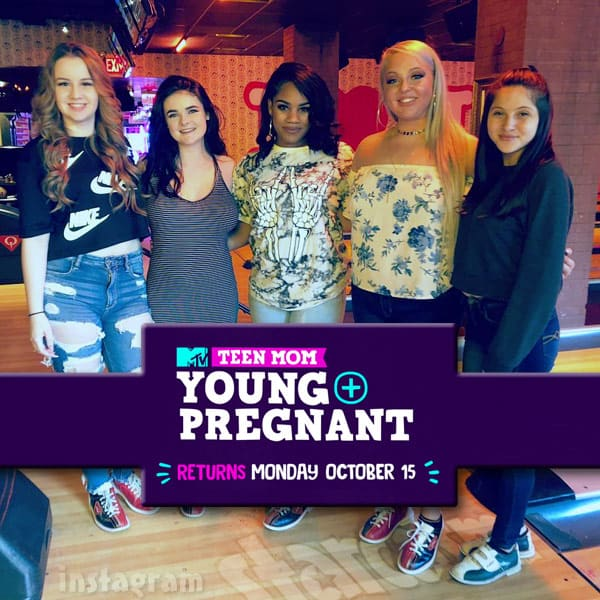 Teen Mom Young and Pregnant Season 2 premieres October 15 2018 on MTV