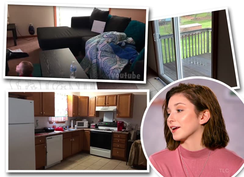 Unexpected McKayla Adkins moves into new apartment