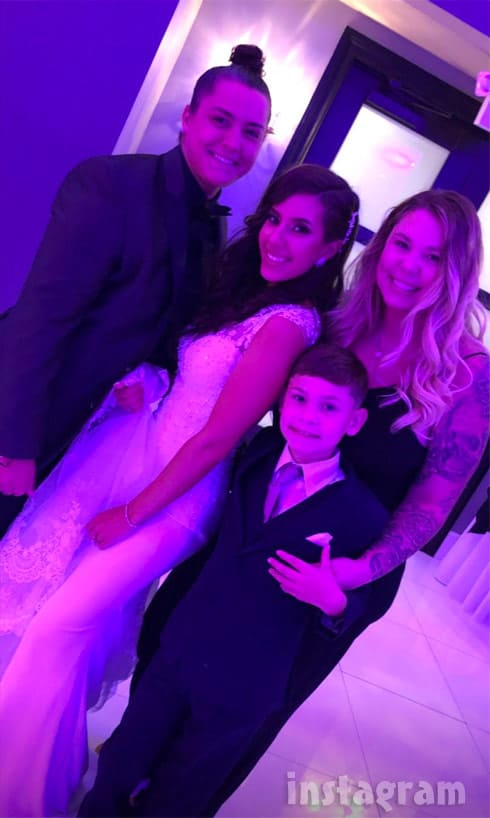 Vee Torres wedding Kail Isaac Becky