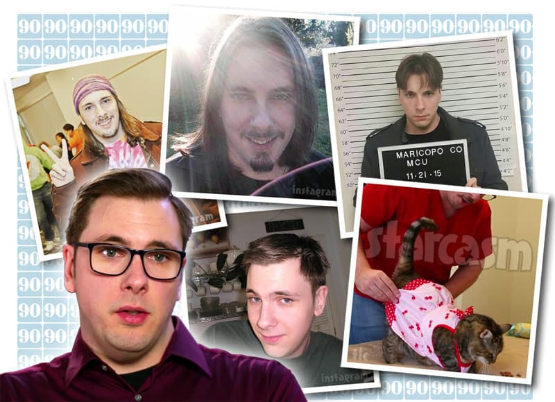 90 Day Fiance Colt Johnson throwback photos, including a mug shot?!