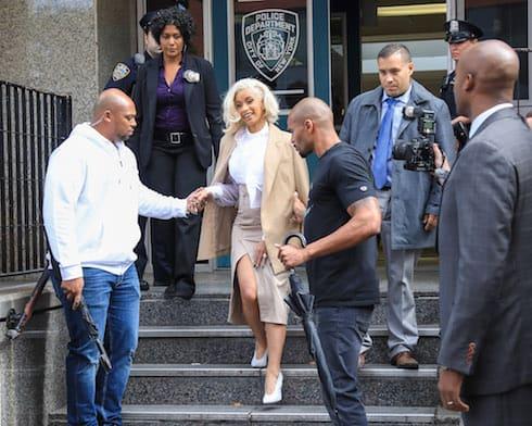 Cardi B's assault arrest