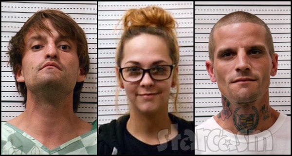 Jenelle Evans pals Josh Miller Tori Rhyne Courtland Rogers in Brunswick County Jail together