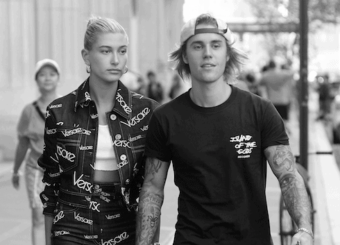 Justin and Hailey married 2