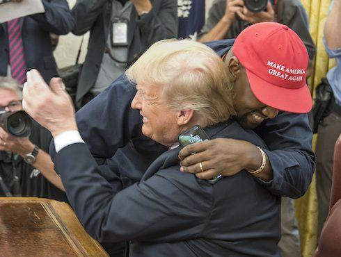 Kanye and Trump summit