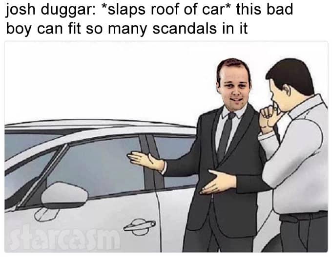 Josh Duggar Gets Used Car Lot Upgrade Approved In Arkansas