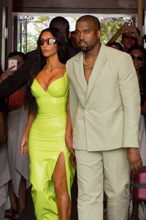 Kim and Kanye 1