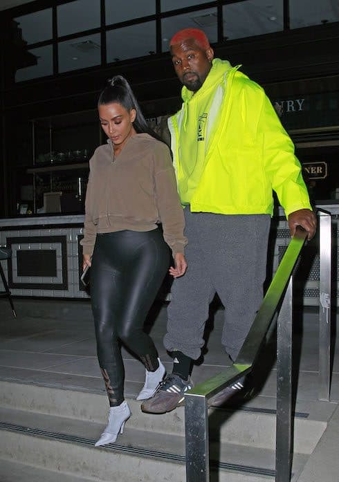 Kim and Kanye's firefighters 2
