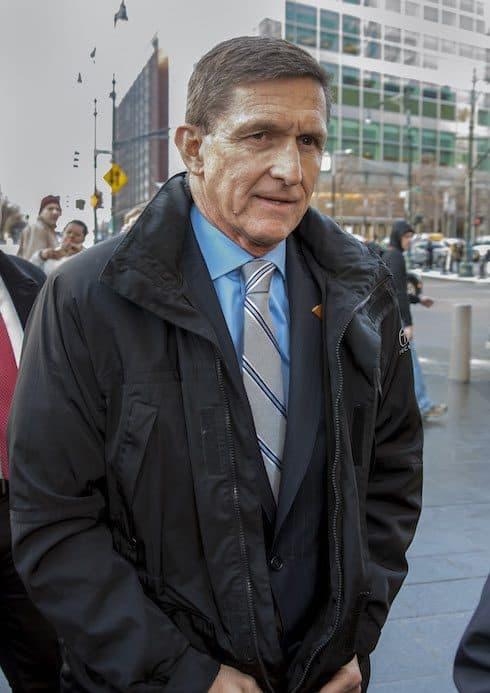Flynn spilled Trump's tea