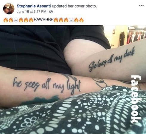 Steven Assanti still married tattoos