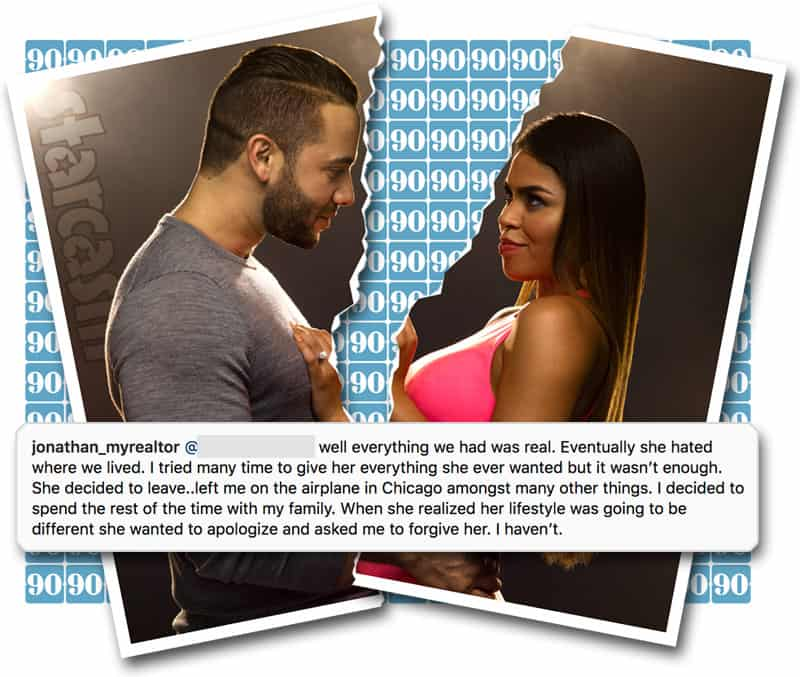 90 DAY FIANCE Did Jonathan and Fernanda split up? See their comments