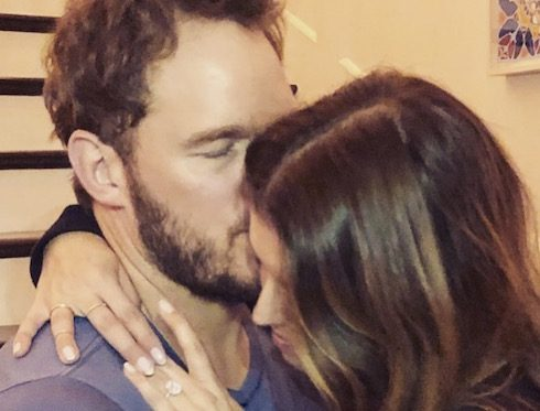 Chris Pratt engaged 2