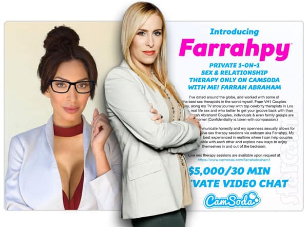 Dr Jenn responds to Farrah Abraham offering therapy on adult cam site