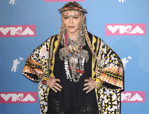 Madonna butt implants 2
