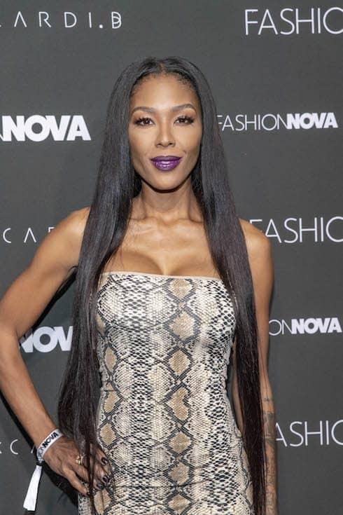 Moniece Slaughter dating Scrapp DeLeon 1