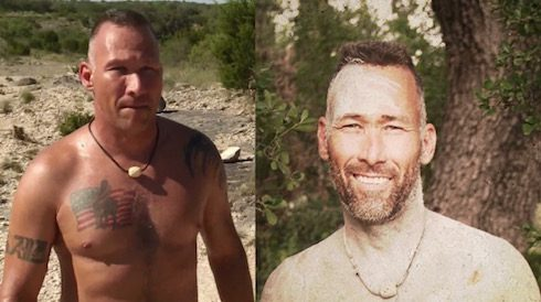 Naked and Afraid weight loss Scott Thompson