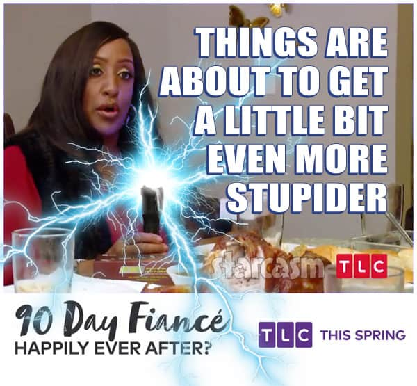 90 Day Fiance Happily Ever After Chantel mom more stupider taser Sparky