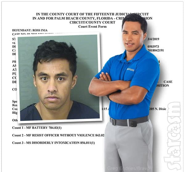 Below Deck Ross Inia charges not dropped after drunken police altercation in Florida