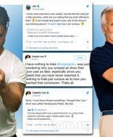 Below Deck Captain Lee Rosbach and Vanderpump Rules Jax Taylor feud on Twitter