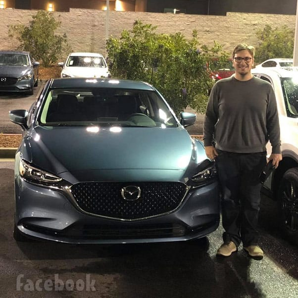 Colt Johnson new car Mazda6