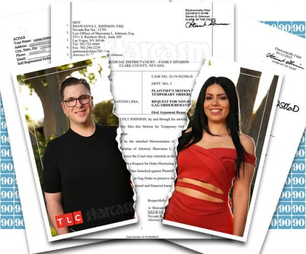 90 Day Fiance Happily Ever After Colt and Larissa divorce documents
