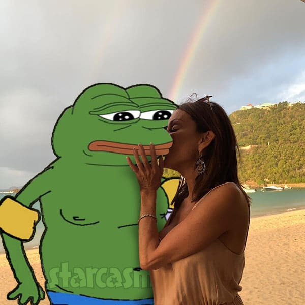 Duchess Danielle Staub Duke Pepe the Frog