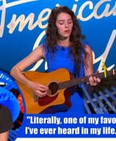 90 Day Fiance Evelyn Cormier American Idol Katy Perry quote saying she is one of her favorite voices