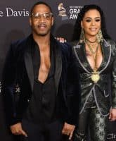 Faith Evans and Stevie J 1
